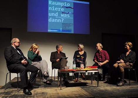Diskurs Raumpioniere - Landkunstleben, Kunstverein in Steinhöfel/Brandenburg